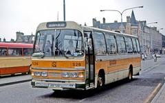 Graham, Paisley: S26 (JRB741N) in Paisley (Mega Anorak) Tags: nottinghamcitytransport paisley graham duple psu3c4r leopard leyland coach bus