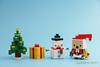 tkm-DanboChristmas-3 (tankm) Tags: danbo danboard christmas snowman lego