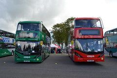 Nottingham City Transport 403 YP17UFC & 410 YP17UFG (Will Swain) Tags: seen showbus 2017 donington park 17th september north west bus buses transport travel uk britain vehicle vehicles county country england english nct nottinghamshire nottingham city 403 yp17ufc 410 yp17ufg