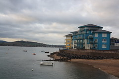 The Exe and Exmouth (lazy south's travels) Tags: exmouth east devon england english britain british uk building architecture sea side seaside town beach flat flats apartment