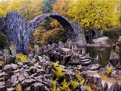The Rakotz bridge in Kromlau in Saxony (Ostseetroll) Tags: deu deutschland gablenz geo:lat=5153606456 geo:lon=1464065712 geotagged kromlau sachsen rakotzbrücke