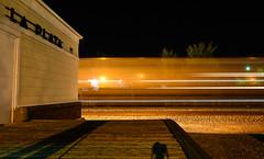 La Plata and a Z train. (Machme92) Tags: bnsf burligrton bn ge gevo trains trainrace railroad railfanning railroads transcon santafe atsf nikon nikond7200 nightshots nightshot