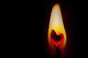 ♥ Feuriges Herz ♥ (Uli He - Fotofee) Tags: ulrike ulrikehe uli ulihe ulrikehergert hergert nikon makro herz feuer kerze licht leuchtend herzlich