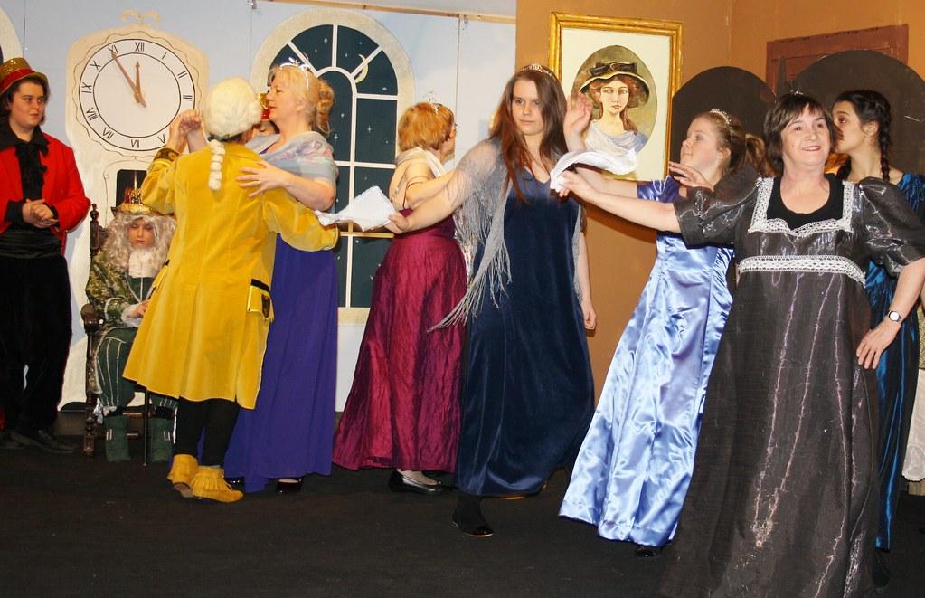 cinderella ballroom dancers