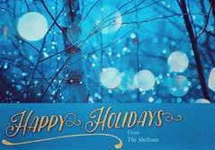Happy Holidays! (jeanmarie's photography) Tags: blue winter nikon bokeh greetingcard card greetings holiday christmas jeanmarieshelton