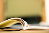 22/31 Dec17- An Open Book (KamPhotography3) Tags: 7daysofshooting anythinggoes focusfriday week24 december decemberpost 31dayphotochallange 31daychallange canon750d canonphotography canon canonshots canon50mm macro book books openbook year2017 2017 december2017 dec17 blur blurred bookpages encyclopedia literature novel paper browse education knowledge learn learning open orange pages read research school study studying university wisdom closeup focus