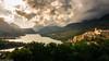 Quasi Tramonto (SDB79) Tags: tramonto abruzzo lago barrea parconazionaleabruzzo paese villaggio montagna bosco paesaggio