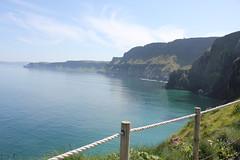 IMG_3752 (avsfan1321) Tags: ireland northernireland unitedkingdom uk countyantrim ballycastle carrickarede carrickarederopebridge nationaltrust landscape green blue ocean atlanticocean