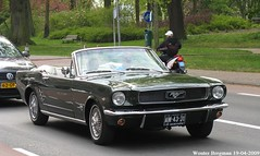 Ford Mustang convertible 1966 (XBXG) Tags: am4331 ford mustang convertible 1966 fordmustang v8 cabriolet cabrio roadster tourer staten bolwerk haarlem nederland holland netherlands paysbas vintage old classic american car auto automobile voiture ancienne américaine us usa vehicle outdoor