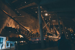 The Vasa ship (]vincent[) Tags: sweden sverige stockholm square trip green land house red yellow wheel cathedral domkyrka people self portrait window river kyrka girl pretty beautiful ginger swede park super mario subway station colorful market statue pacman flower metro tunnelbana cafe sten sture cheese dusk old friend wine store hotel marriott painting lake freezing cold reflection boat cruise fotografiska museum museet gröna lund tivoli vasa scandinavia abba