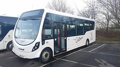 Astons MX12CFV (<3 Astons Coaches) Tags: astons coaches worcester wrightbus streetlite