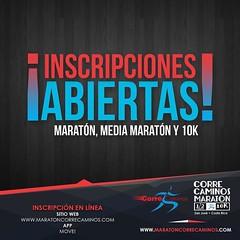 Ya se puede inscribir en la Correcaminos 2018 en las distancias de Maratón, Media Maratón y 10K a través de: http://ift.tt/2lx5Uug App Move! En tiendas a partir del 15 de enero. ¡Precio especial por pre-inscripción! Fecha del Evento: 8.Jul.18 A los primer