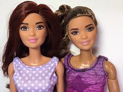 Kira Comparison (Foxy Belle) Tags: doll barbie kira doctor 2018 mattel career scientist