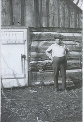 Richard (a.k.a. Dick or Patty) McCune circa 1920s. (RLWisegarver) Tags: piatt county history monticello illinois usa il