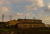 Slate love. (Yasuyuki Oomagari) Tags: slate evening cloud factory pole autumn line shadow nikon d800e nikkor 2470mmf28g japan fukuoka 日本 福岡 工場