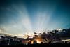 beams (N.sino) Tags: m9 ultron35mmf17 imperialpalace sunset beam dusk tokyo koukyo 皇居 皇居前広場 警視庁 光線 ビーム 夕日