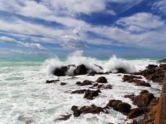 tuscany - rosignano marittimo (massimo palmi) Tags: toscana tuscany mare see paradise storm tempesta rosignano marittimo wave onda waves clouds nuvole italy italia