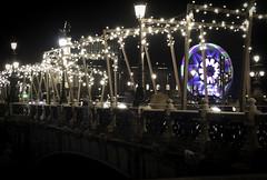 ZUBIA (lonewolf_studio) Tags: donostia sansebastian gipuzkoa basquecountry euskalherria maria cristina bridge station christmas lights longexposure navidad winter