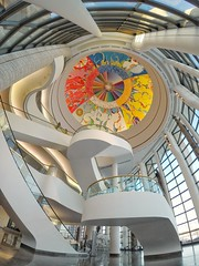 The Morning Star (Marc McDermott) Tags: morningstargambehthen' alexjanvier canadianmuseumofhistory hull gatineau quebec canada douglascardinal architecture building people stairs wideangle gopro hero 5 black