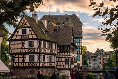 Strasbourg (RS0815) Tags: strasburg strasbourg oldtown architecture city house river old historic sunset summer france travel nikond750 tamron 70mm