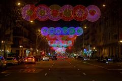 Luces de Navidad en Madrid (Pablo Rodriguez M) Tags: madrid españa spain navidad christmas xmas lights luces street calles