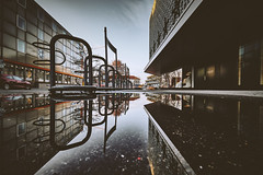 Reutlinger aspects (Tim RT) Tags: tim rt reutlingen mirror mirrors ground lay down low angle water architecture city spiegelbild stadt urban life style love germany 2017 hypebeast visual inspired flick new picture 2018 awesome beautiful view photography canon 6d 6d2 6dmk2 mark ii canon1635mm f4 l lens