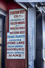 Sign--Meat Market (PAJ880) Tags: market meat sg blackstone st north end boston ma outdoor waning
