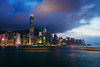 Hong Kong City skyline at night. View from across Victoria Harbor Hongkong. (MongkolChuewong) Tags: aerial architecture asia asian background beautiful blue building buildings business china city cityscape day district downtown evening harbor harbour hong hongkong kong landmark landscape light metropolis modern mountain night office panorama panoramic peak peaks reflection scene scenic sea sky skyline skyscraper sunrise sunset tourism travel traveler urban victoria view