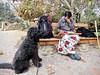 A Navajo Tale (Bennilover) Tags: navajo nativeamerican traveler fourcorners sanjuancapistrano amtrak flute mentalillness encounter benni labradoodle
