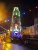 Penryn Lights 3 (Cornishcarolin. Thank you for over 2 Million Views) Tags: cornwall penryn christmaslights evening rain clock clocktower tower building architecture