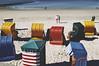 Strandkörbe (Jos Mecklenfeld) Tags: beach strand northsea nordsee noordzee sea zee meer people mensen leute strandkorven strandkörbe beachbaskets borkum niedersachsen germany deutschland duitsland agfavista800 sonynex3n sonylaea2 minoltaaf28mmf28 de