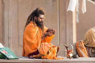 Sadhu ...Varanasi India 2017