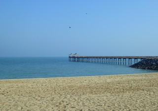 Kuwait beach and pier, Kuwait city