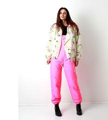 il_fullxfull.1422074897_dw2i (onesieworld) Tags: exy retro 80s 90s fashion port skisuit onepiece onesie snowsuit woman babe catsuit shiny nylon ski
