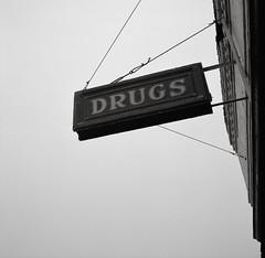 Drugs, Oakesdale, Washington (austin granger) Tags: drugs oakesdale washington palouse sign meaning mind font square film gf670 evidence
