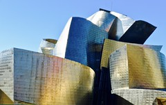 Guggenheim Museum - Bilbao - Spain (Globetreka) Tags: bilbao spain europe museum architecture thebestvisions spiritofphotography worldtrekker checkoutmynewpics flickrawardgroup architectureandcities thisphotorocks flickrone allaroundtheworld theworldinflickr travel infinityedge