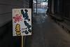 いらっしゃいませ (kasa51) Tags: sign handwriting child welcome turtle goldfishshop 金魚屋 yokohama japan alley hiragana