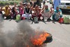PROTEST WATER SCAERCTY (TheDispatch) Tags: jammu kashmir jammuandkashmir jammusrinagar highway kashmiri militancy mehbooba mufti nirmal singh chowdhary zulfkar ali