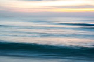 South Beach Ocean Abstract, Miami