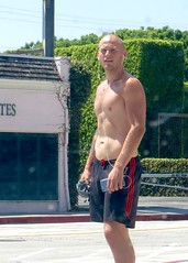 IMG_0557 (danimaniacs) Tags: sexy hot man guy mansolo bald shorts