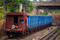 The Last Van ! (siddarthashok@rocketmail.com) Tags: caboose wag5 twins valsad indianrailways railroad railfan trains