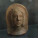 Terracotta female votive head from Cori thumbnail