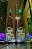 The Shard glows green! (Nigel Blake, 15 MILLION views! Many thanks!) Tags: the scoop more london shard theshard thescoop londonbridgecity green christmas christmaslights lightshow colour color night nigelblakephotography nigelblake
