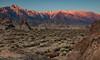 Range of Light II (chasingthelight10) Tags: events photography travel landscapes highdesert mountains nature rockformations sunset sunsets sunrises sunrise places california lonepine alabamahills lonepinepeak mtwhitney