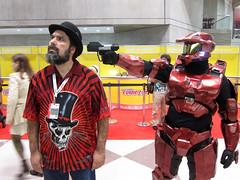 Jason & Master Chief (Mirka23) Tags: nycc comiccon nycc2012 cosplay jason
