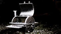 Snowpit 12.07.2017 (lensofjon) Tags: austintx atx austintexas texassnow texas bbq grill snow winter canonrebel 50mm nightshots