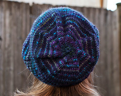 Bullseye (chavala) Tags: knitting spinning hats handspun myhandspun helix hat