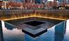 Reflecting absence (ArmyJacket) Tags: worldtradecenter newyorkcity 911 nyc wtc manhattan memorial city outdoor water