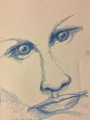 Tonight's Crayon Drawing: Face (Howard TJ) Tags: drawing crayon face