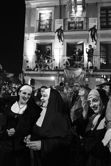 7MZ Scenes (Julián del Nogal) Tags: halloween zombies nuns characters parade streetphotography